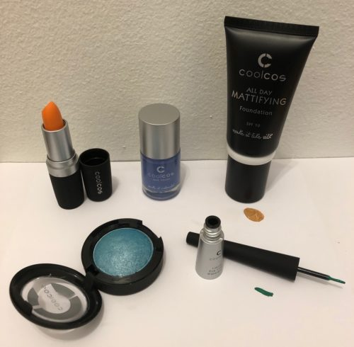 Vareparti makeup fra Coolcos