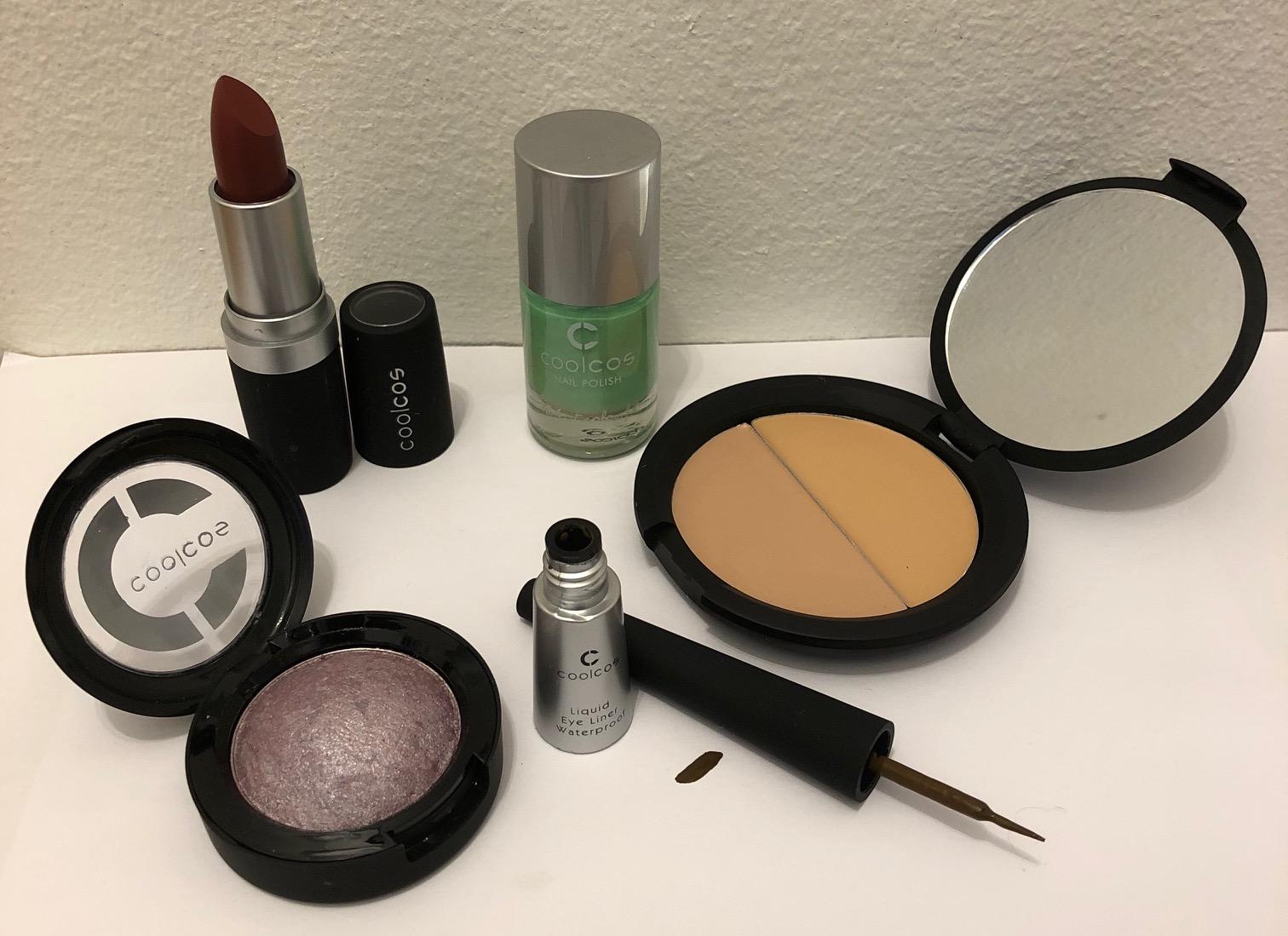 Vareparti makeup fra Coolcos uden parabener