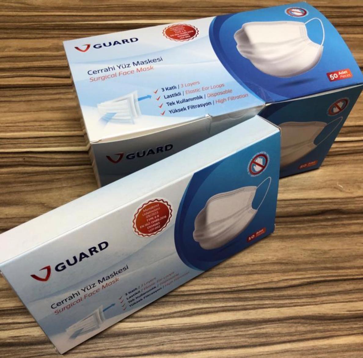 Vareparti mundbind - type 2 - godkendt af lægemiddelstyrelsen